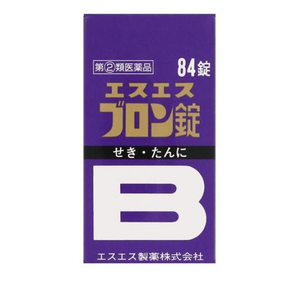 せき たん エスエスブロン錠 84錠 指定第2類医薬...