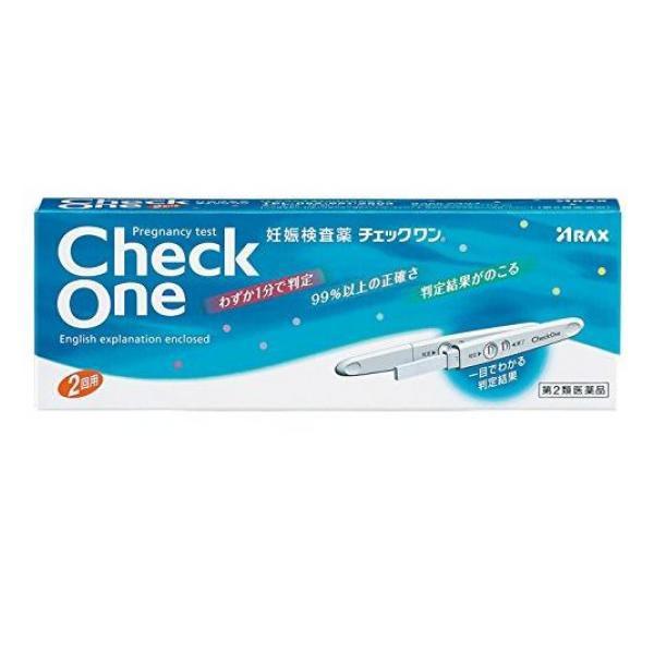チェックワン 2回用 妊娠検査薬 アラクス 第2類...