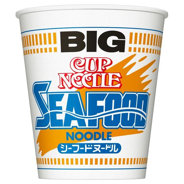 日清 カップヌードル シーフードヌードル ビッグ 104g×12個 日清食品 インスタント カップ麺 インスタントラーメン ケース販売 まとめ買