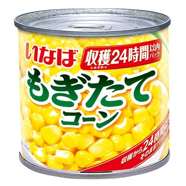 いなば食品 もぎたてコーン 300g×24缶 大容量 300g コーン缶 缶詰 備蓄いなば
