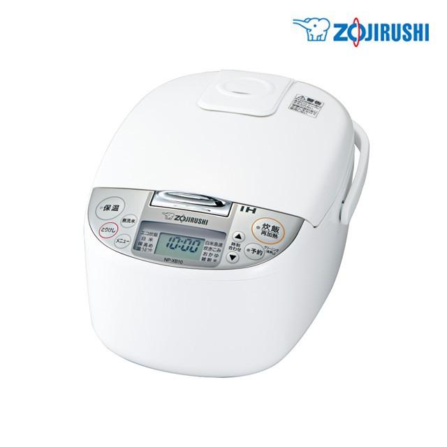 象印 IH炊飯器  極め炊き  NP-XB10-WA ホワイト 5...