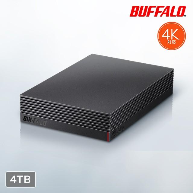 バッファロー 外付けハードディスク 4TB HD-NRLD4...