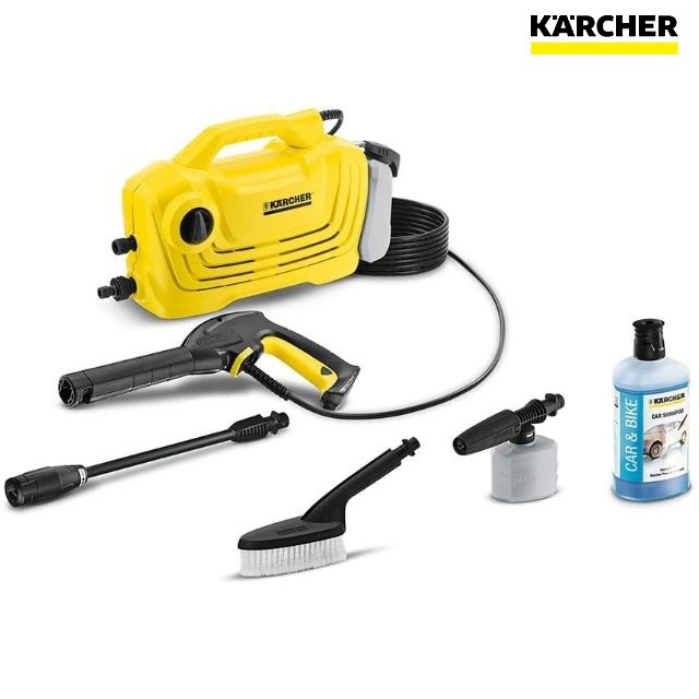 ケルヒャー 高圧洗浄機 K2 クラシックプラスカー...