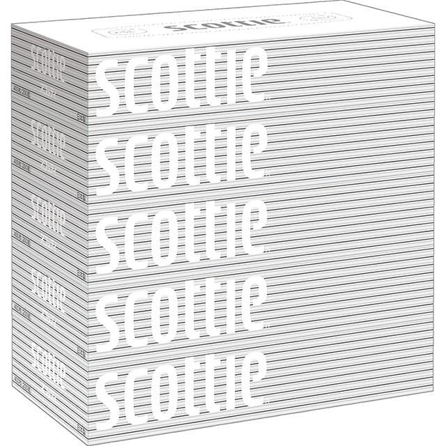 スコッティ ティシュー 5箱パック 400枚(200組)...