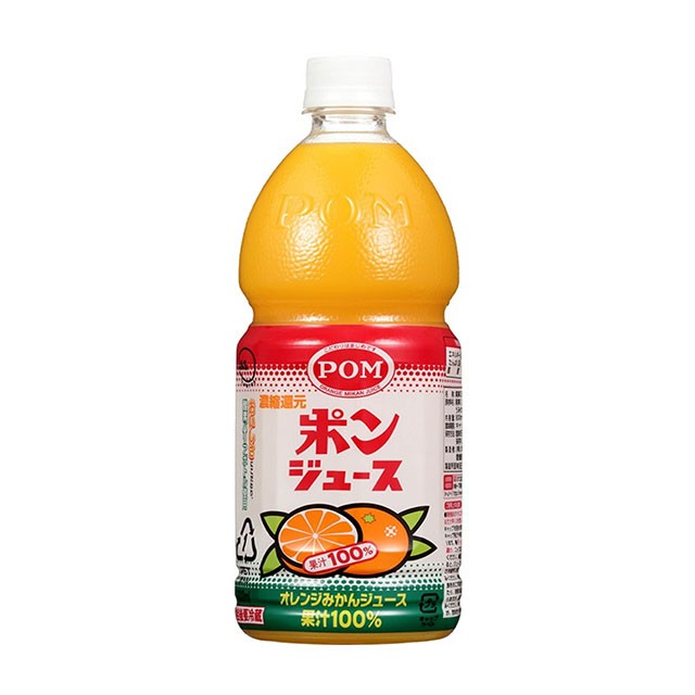 フルーツジュース POM ポンジュース 800mL×6本 1ケース