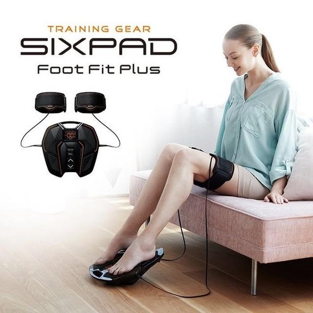 MTG SIXPAD シックスパッド Foot Fit Plus フィット フット プラス 正規品 EMS 足腰 ロコモ