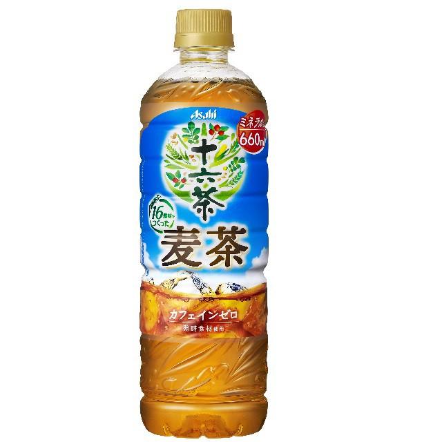 アサヒ飲料 十六茶麦茶 660mL×24本(24本×1ケース)