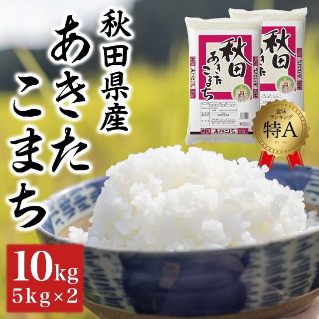 米 お米 10kg (5kg×2) 令和2年産 精米 あきた...