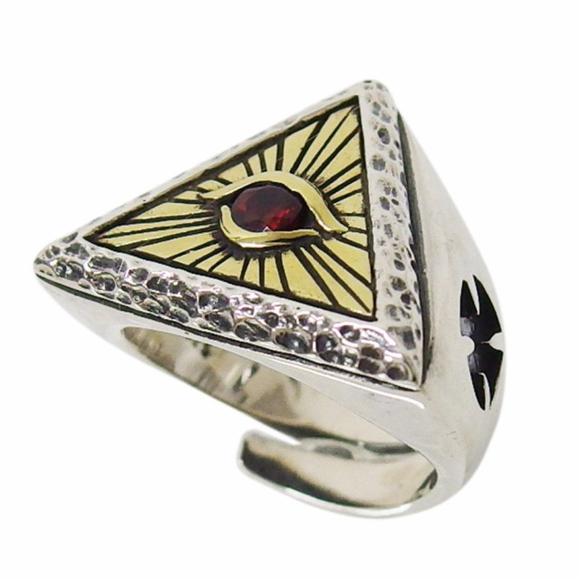 プロビデンスの目の指輪(1)SV+B RCZ15号フリーサ...