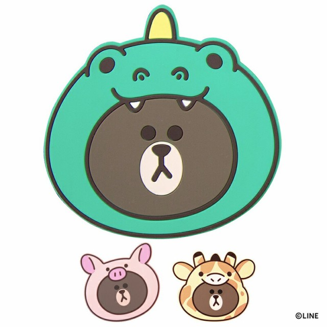 LINE FRIENDS 急速充電対応 ワイヤレス充電パッド...