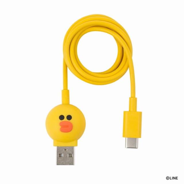 USB Type-C ケーブル LINE FRIENDS 充電 データ転...