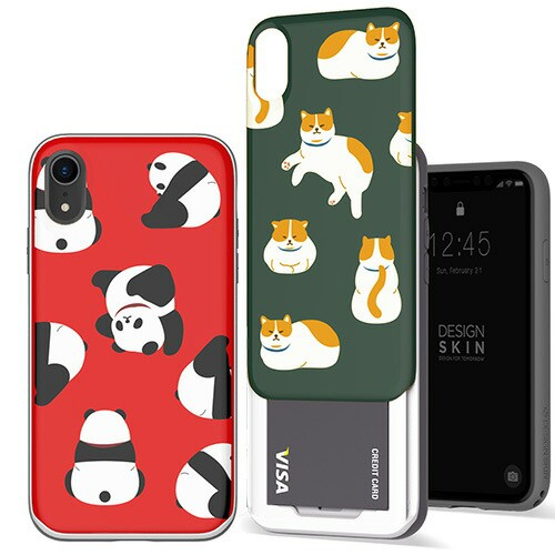 iPhone XR ケース Design Skin SLIDER GRAPHIC(...