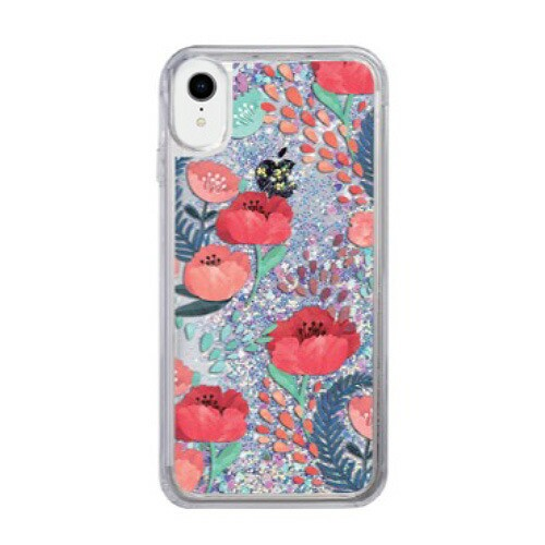 iPhone XR ケース icover Sparkle case With Opiu...