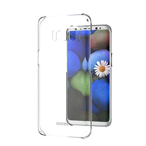 Galaxy S9 S8 ケース araree Nu:Kin ギャラクシー...