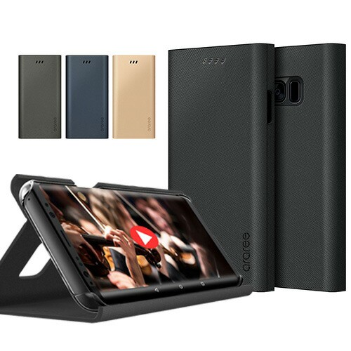 Galaxy S9 S9+ S8 S8+ ケース 手帳型 araree BO...
