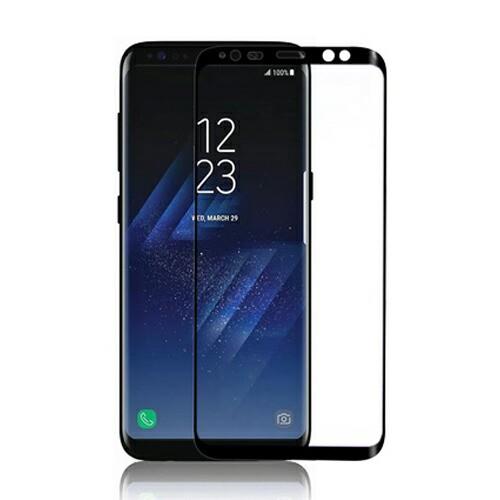 Galaxy S9+ S8+ 3D 強化ガラスフィルム GLASTAR(...