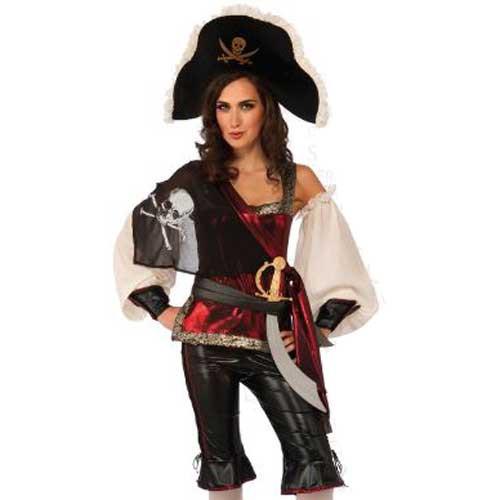 ≪訳アリ≫ハロウィン コスチューム 女海賊 大人...