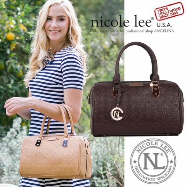 NICOLE LEE ニコールリー EMB12602 レトロ モノグ...
