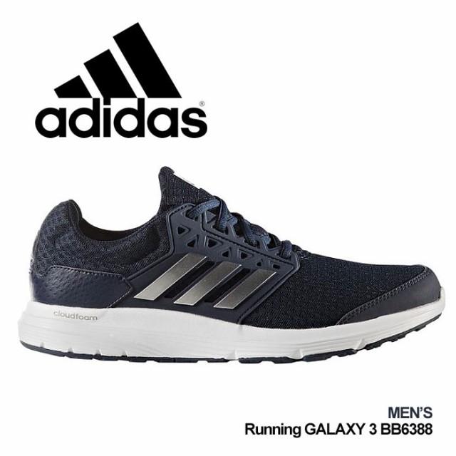 アディダス ギャラクシー 3 スニーカー メンズ 靴...