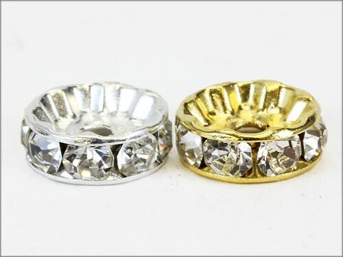 【金具・パーツ類】ロンデル(ノーマル) 4mm 金 or...