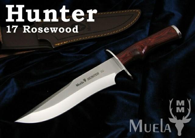 Muela/ムエラ HUNTER-17R ハンター 173mm /ローズ...