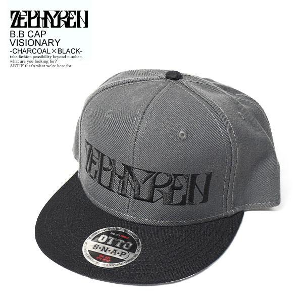 ZEPHYREN ゼファレン B.B CAP VISIONARY -CHARCOA...