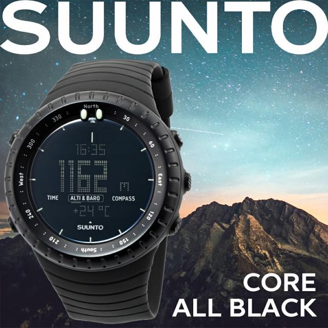 スント SUUNTO Core オールブラック SS014279010...