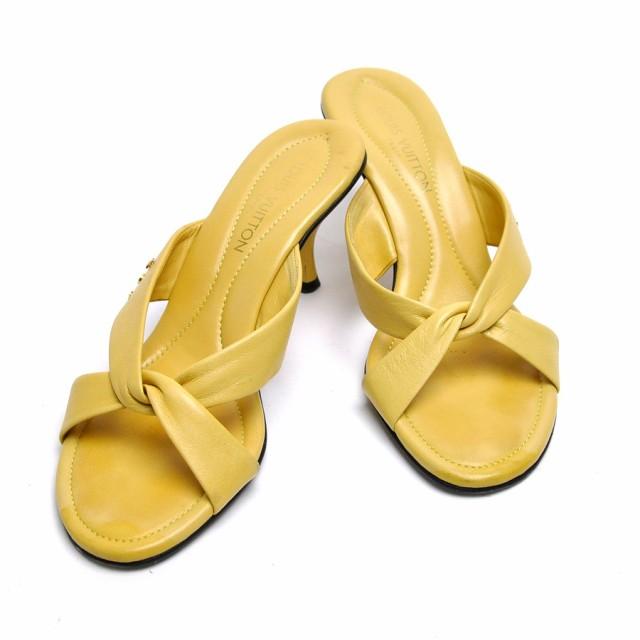 【中古】 ルイヴィトン LOUIS VUITTON 靴 ミュー...
