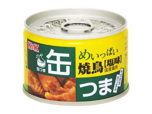 【まとめ買い×024】KK 缶つま めいっぱい 焼鳥 ...
