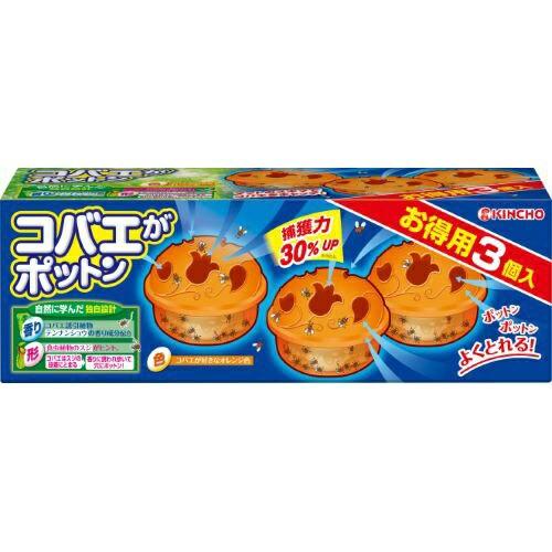 コバエガポットン置くタイプT3個入り : 大日本...
