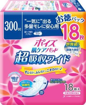 日本製紙クレシア ポイズパッド 超吸収ワイド 女...