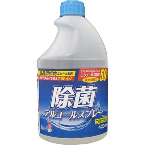 友和 ティポス 除菌アルコール 付替 420ml ( エタ...