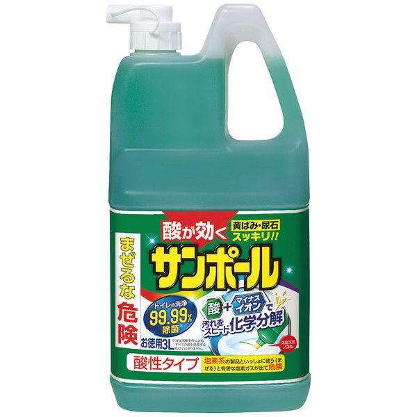 大日本除虫菊 【業務用】サンポール 3L 便器のが...