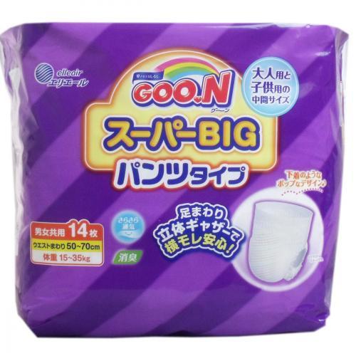 グ〜ン スーパーBIG パンツタイプ : 大王製紙