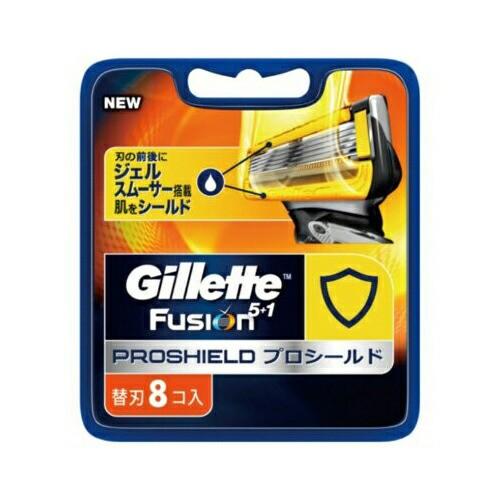ジレット フュージョン5+1 プロシールド 替刃 8個...