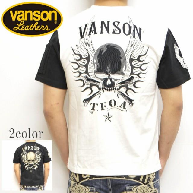 VANSON バンソン×クローズ WORST CRV-815 半袖T...