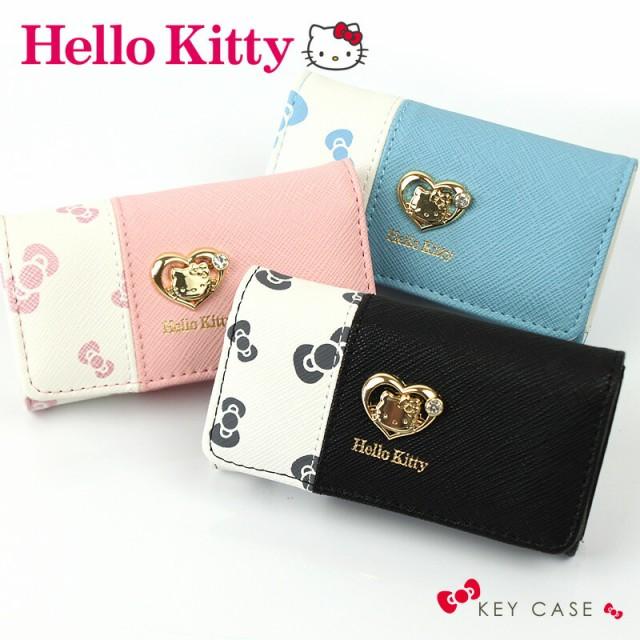 キティ キーケース Hello Kitty リボン柄 5連 キ...
