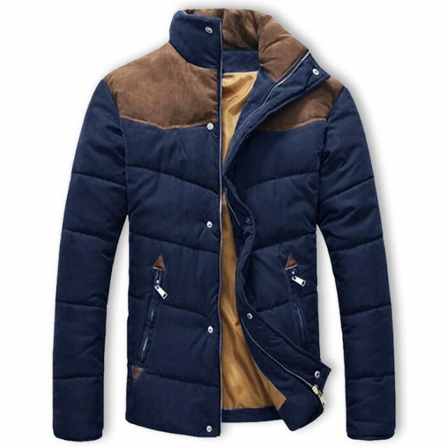 ブルゾン メンズ 中綿入りジャケット コート ジャ...