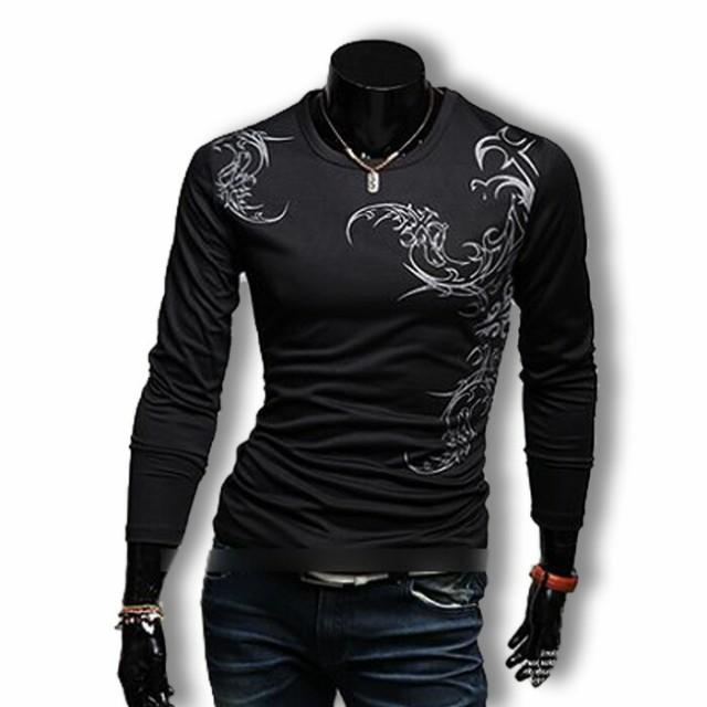 オラオラ系 ファッション tシャツ メンズ ロンT ...