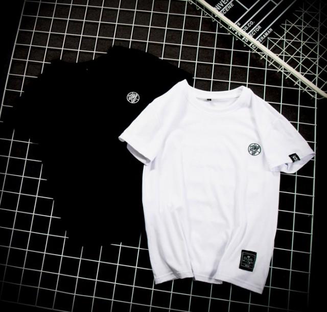 Tシャツ メンズ トップス シャツ 半袖 ワンポイン...