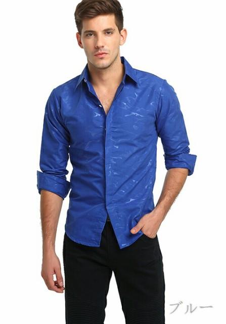カジュアルシャツ メンズ トップス シャツ シャド...