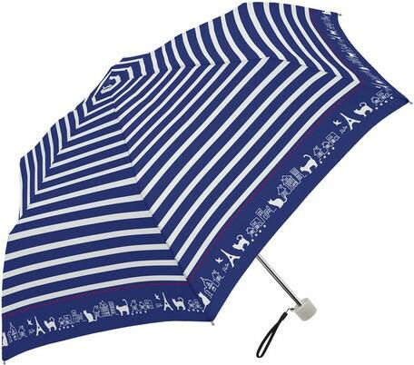 傘 レディース 晴雨兼用傘 SVコーティング ボーダ...