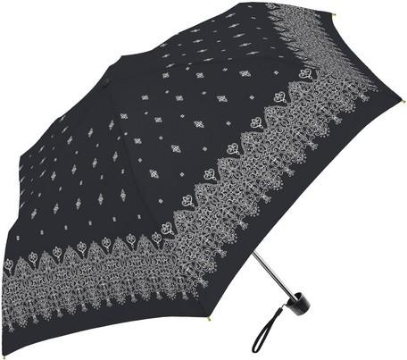 傘 レディース 晴雨兼用 アラベスク SVコーティン...