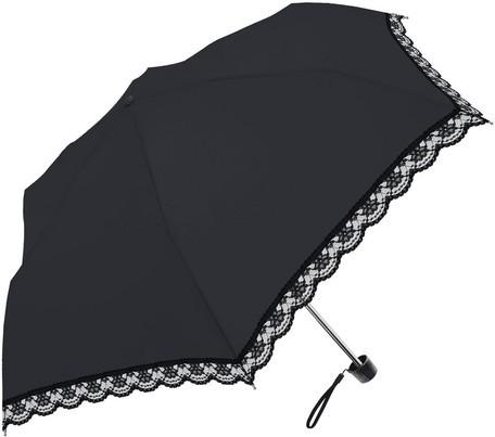 傘 レディース 晴雨兼用 レース切継ぎ SVコーティ...