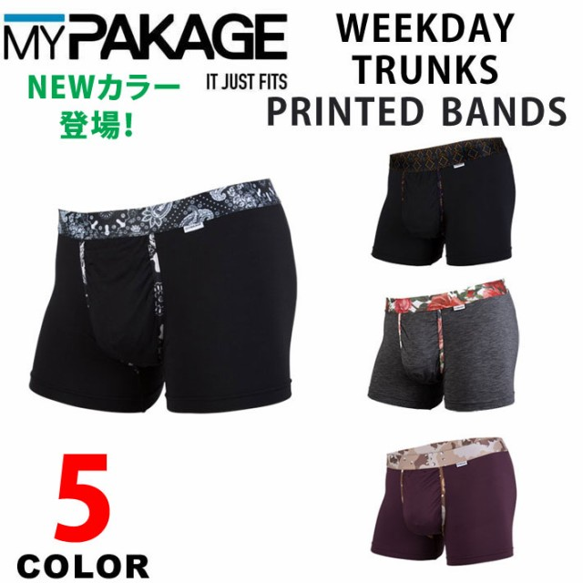 MY PAKAGE マイパッケージ WEEKDAY TRUNKS PRINTE...