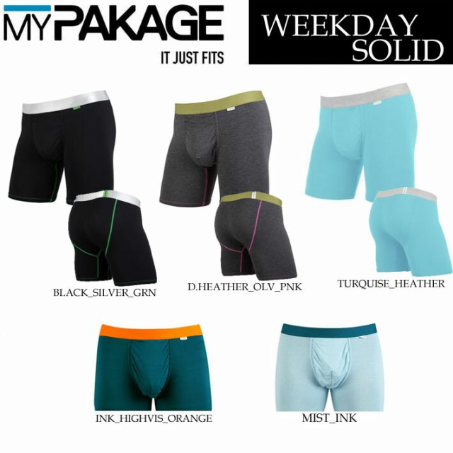 MY PAKAGE マイパッケージ WEEKDAY BOXER BRIEFS ...