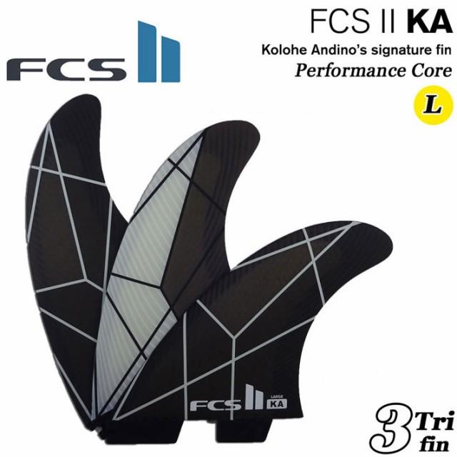 FCS2 フィン KA PC TRIフィン WHITE/GREY [LARGE...