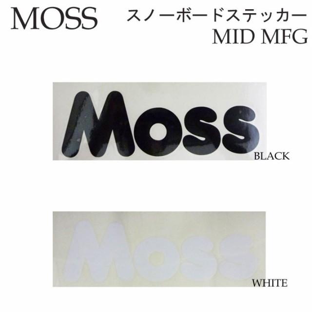 MOSS スノーボード ステッカー MID MFG モス カッ...