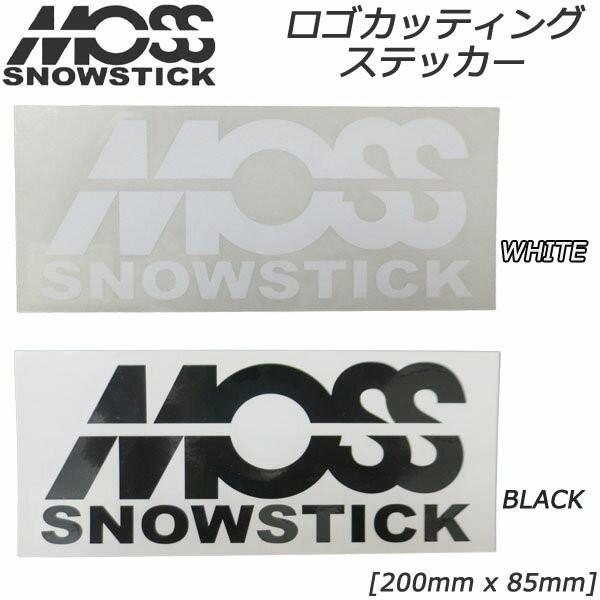 MOSS SNOWSTICK モス スノースティック ステッカ...