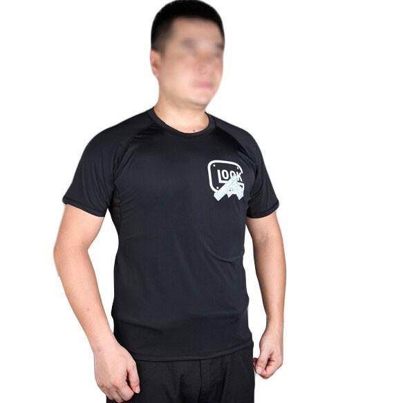 EMERSON オリジナルTシャツ GLOCK BK Sサイズ